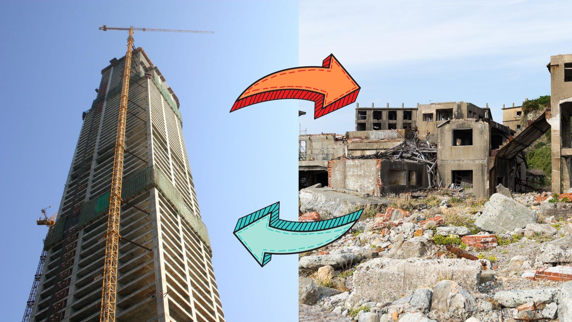 gradnja ali podiranje